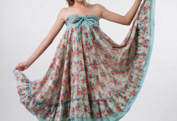 Como costurar um vestido de praia com suas próprias mãos?