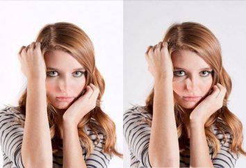 Korekta twarzy w Photoshop: zmiana kształtu i koloru