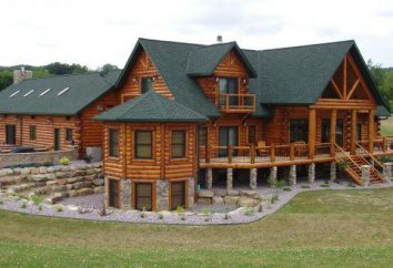 Casas de madera: construcción y decoración