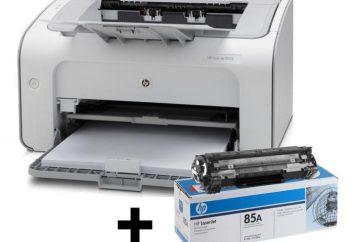 Instalacja ustawienia drukarki i akcesoriów HP LaserJet P1102
