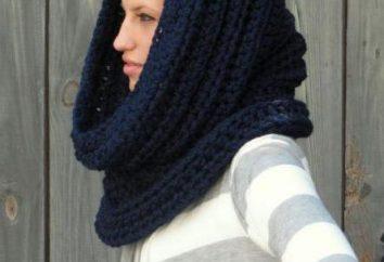 Warm sciarpa crochet: lo schema, la descrizione foto