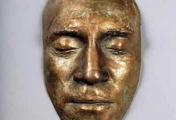 Masque posthume de Vysotsky. Archives de Marina Vlady aux enchères