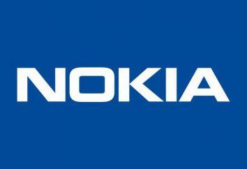 """El popular Nokia teléfono de la marca – """"clamshell"""". modelo general"""