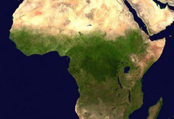 zona de clima africano. Mapa de zonas climáticas en África