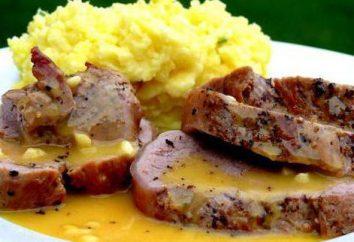 molho delicioso para a carne: uma receita com uma foto