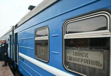 Mińsk – Symferopol: pociąg, plan podróży, cena biletu