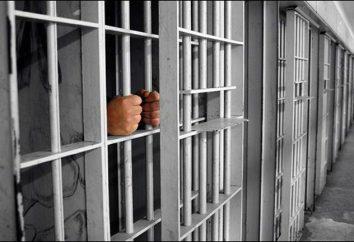 Życie na obszarze: zasady życia więziennego