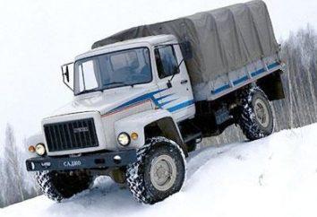 """GAZ-3308 ( """"Huntsman"""") specyfikacje, ceny, opinie i zdjęcia"""