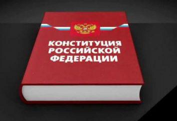 O tema das relações constitucionais e jurídicas na Federação Russa