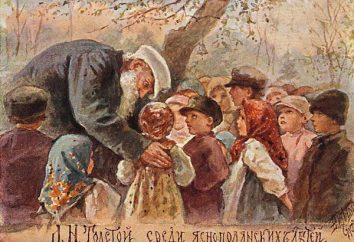 « Quelle est la rosée sur l'herbe. » histoire-description artistique L. N. Tolstogo