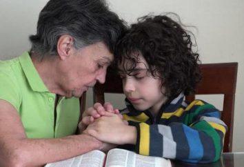 Prawosławna modlitwa dla wnuka