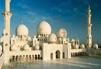 La maggior parte di Sheikh Zayed moschea in Abu Dhabi: una descrizione e la storia
