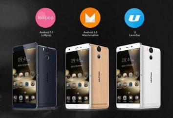 Smartphone Ulefone Moc: opinie, dane techniczne. Długowieczne smartfony