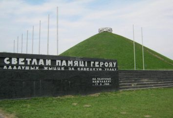 Gloria montículo en Hrodna: historia, fotos. Como llegar al Monte de la Gloria?