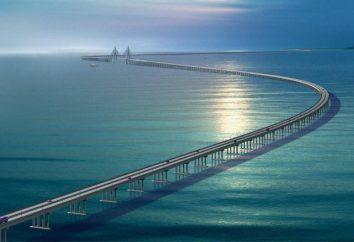 A ponte de Hangzhou na China