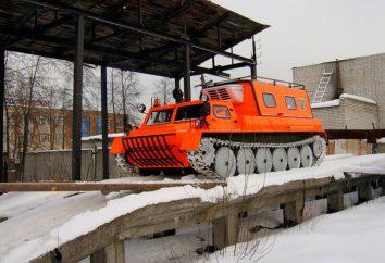 Versátil veículo todo-o-terreno GAZ-34039 – trator de esteira rolante