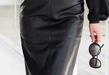 falda de cuero – provocación o el estilo?