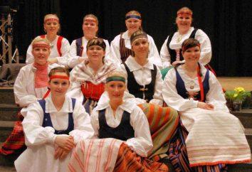 Narodowy strój Karelii: opis, zdjęcia
