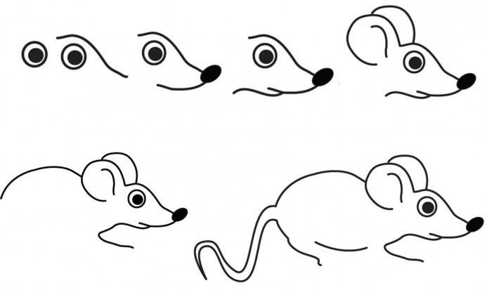 cómo dibujar un ratón dos master class