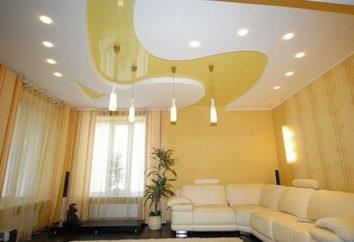 Jak zbudować lampę. Reflektory sufitu LED zagłębiony