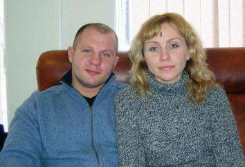 A primeira e última esposa Fedora Emelyanenko – Oksana