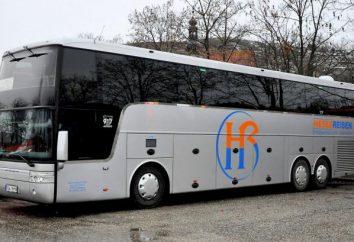 Vacances au Monténégro de Minsk. tour en bus