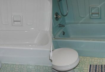 Le bain acrylique liquide: avis. Restauration de baignoires par liquide acrylique