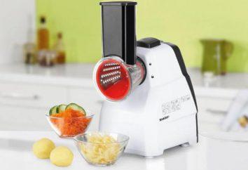 Elektryczna tarka do warzyw: opis, zalety, odmiany. Jak wybrać tarka elektryczna