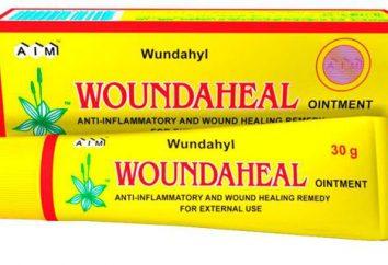 "Jak stosować ""Vundehil"" – maść do leczenia chorób skóry"
