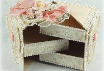 Come fare una scatola di carta? scatola di carta gioielli
