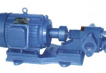 pompe ad ingranaggi: l'ambito di utilizzo, il dispositivo e funzionamento