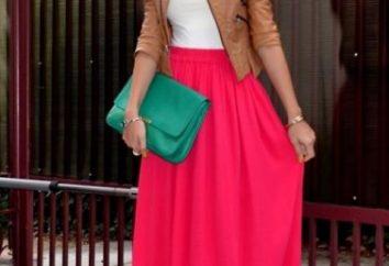 Von dem, was lange Röcke auf den Boden zu tragen?