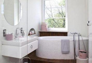 Idee per un piccolo bagno: piastrelle, mensole, specchio con luce