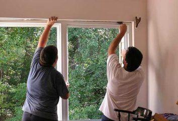 Okosyachki w drewnianym domu: instalacja i typy