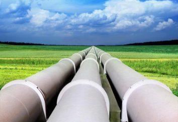 Rohr Stamm-Gaspipeline