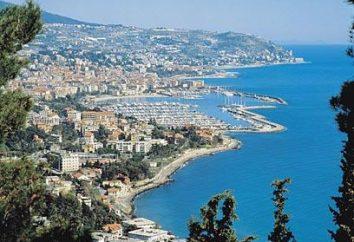 Italia. Sanremo – la città delle luci
