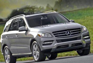SUV Mercedes-Benz ML: specyfikacje, zdjęcia i opinie