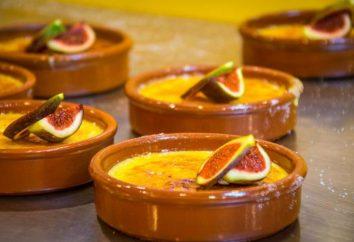 Jak gotować krem kataloński. recepty