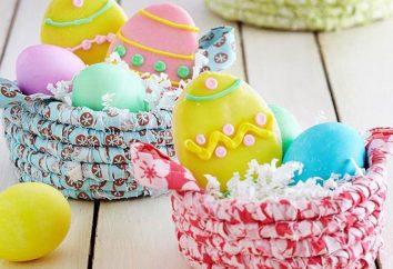 Crafts Pasta taller de Pascua