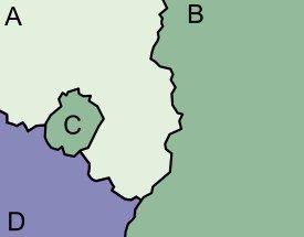 Enclave – quel est-il? enclaves de l'État