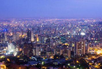 Belo Horizonte, Brasilien – Vertrautheit mit der Stadt