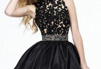 Von dem, was schwarzes Cocktail-Kleid zu tragen?
