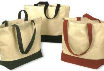 Pattern-Taschen mit ihren Händen: schnell und einfach