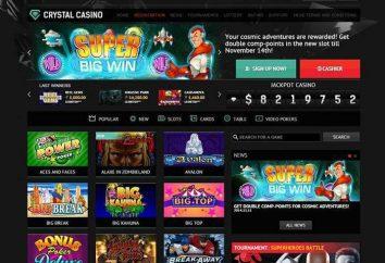 """Casino """"Crystal"""": Spielerbewertungen"""