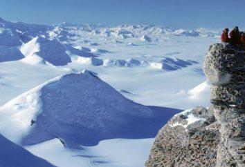 Transantarktische Gebirge: Lage, Ausstattung von Bildung, interessante Fakten