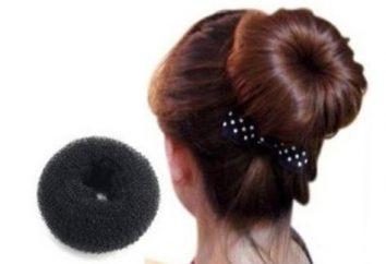 El misterio de peinado de lujo, o un bagel para el cabello y otras decoraciones