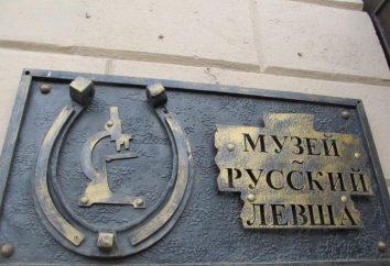 Musée des miniatures à Saint-Pétersbourg, « gaucher russe »
