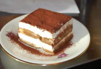 """Krem tiramisu w domu. tort """"Tiramisu"""" z mascarpone"""