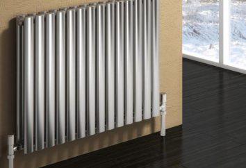 radiatore tubolare in acciaio produzione russa: recensioni, foto