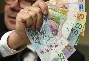 Średnia pensja na Białorusi w sferze działalności